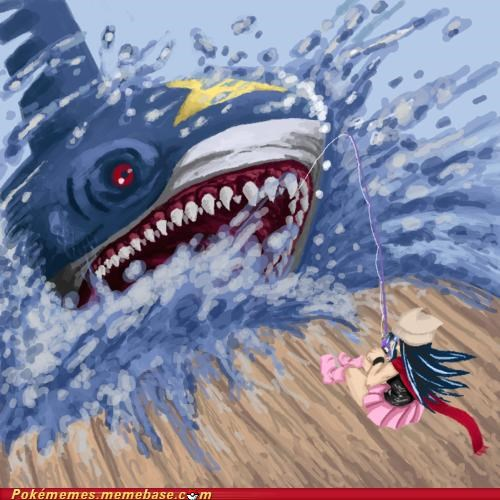 art fishing pole shark sharkpedo - 5050238464