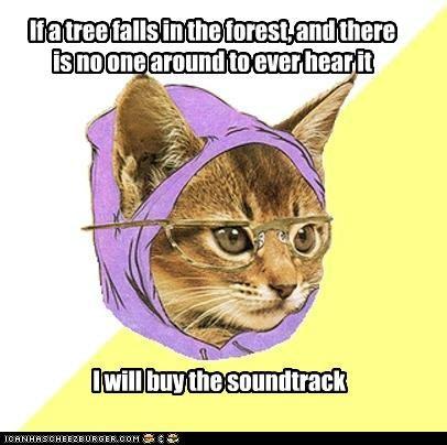 animemes Forest Hipster Kitty koan sound soundtrack tree - 5050301696