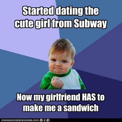 girlfriend legend of zelda relationship sandwich Subway success kid - 5050506752