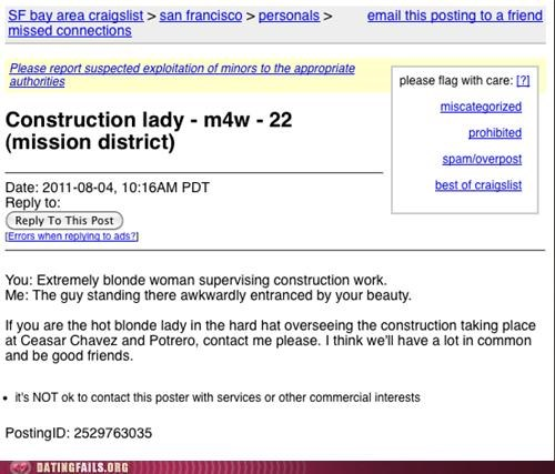 construction craigslist hard hat missed connections We Are Dating - 5050743808