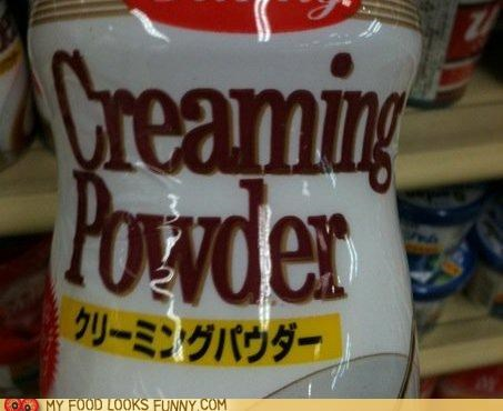 container cream creamer label powder - 5050755584