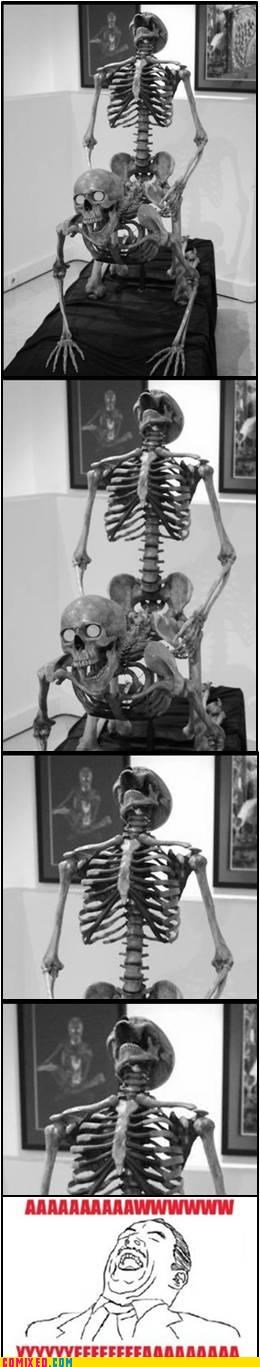 aww yeah rage face sexy times skeleton the internets - 5050778880