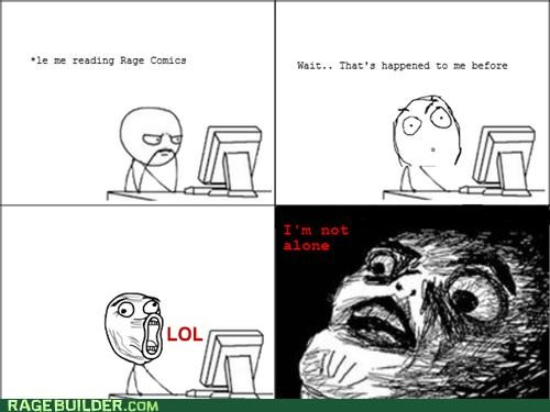 lol guy,not alone,Rage Comics