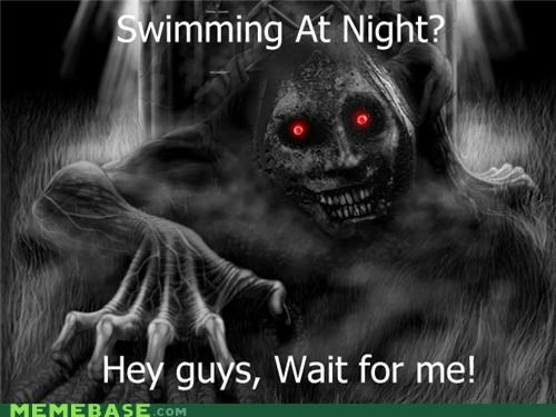 body play pool scary swimming The Shadowlurker - 5050954496