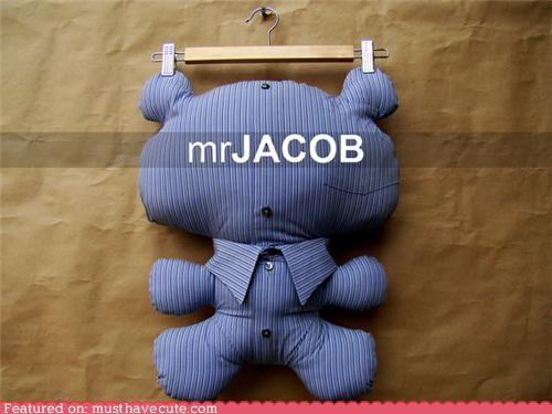 bear Plush repurposed shirt teddy bear used - 5050975232