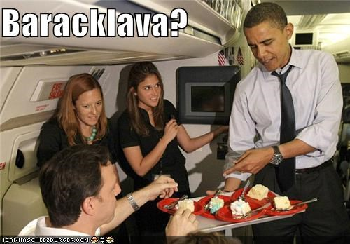 air force one baklava barack obama food politicians portmanteaus president Pundit Kitchen - 5051027968