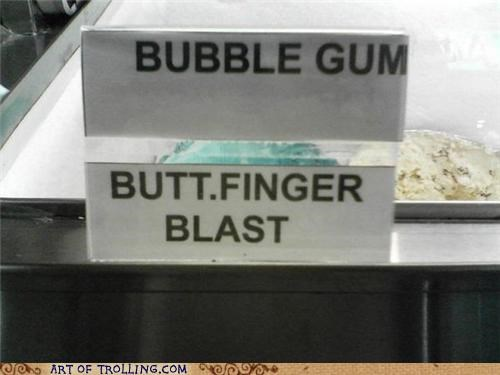 bubble gum butterfinger blast flavor ice cream IRL that sounds gross - 5051225600