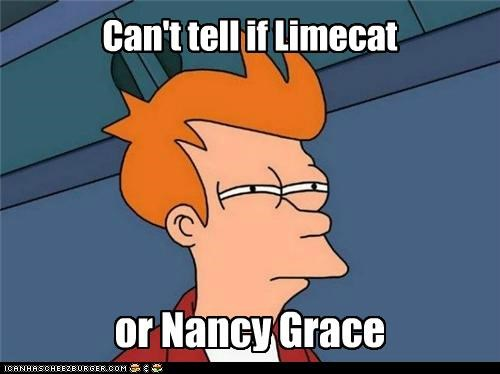 fry,hair,IRL,limecat,Nancy Grace
