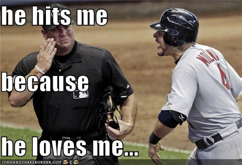 abuse baseball hit love sports umpires Up Next in Sports