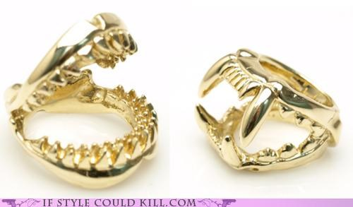 cool accessories luis morais ring of the day rings teeth - 5051595264