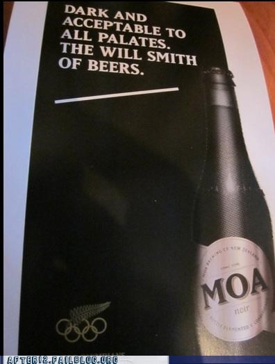 advertisement,beer,jiggy,thats-racist,will smith