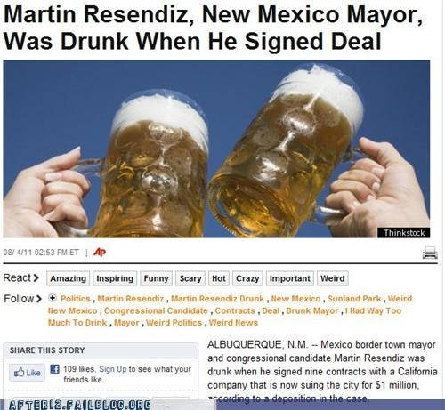 beer drunk new mexico politics - 5051703808