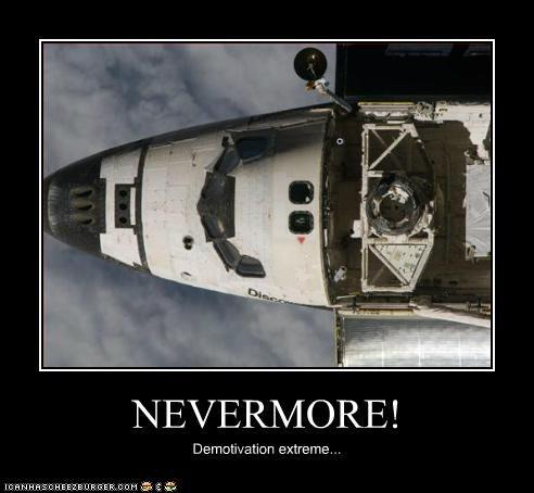NEVERMORE! Demotivation extreme...