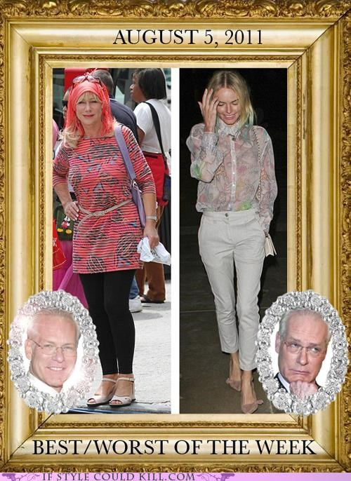 cool accessories helen mirren kate bosworth street style Tim Gunn - 5052820224