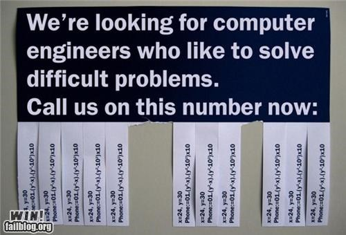 hiring,I see what you did there,math,nerdgasm