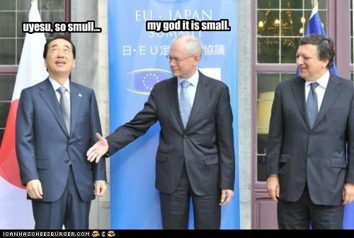 my god it is small. uyesu, so smull...