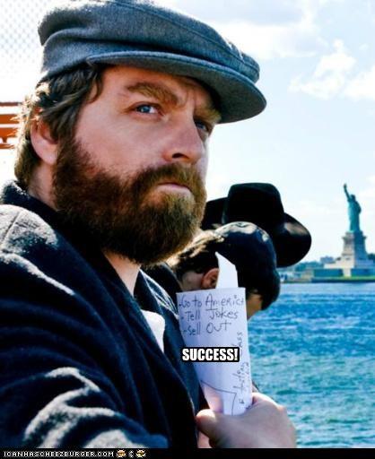 actor celeb funny Zach Galifianakis - 5053031168