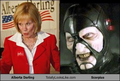 Alberta Darling bad guys evil farscape not cool recall recalled republican Scorpius wisconsin
