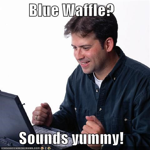 blue waffle disease food google Net Noob yummy - 5054033920