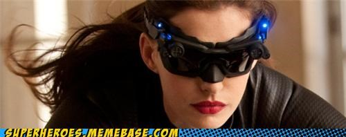 anne hathaway catowman Dark Knight Rises glasses The Movies wtf