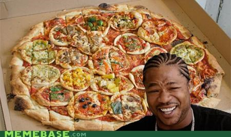 delicious pizza toppings yo dawg