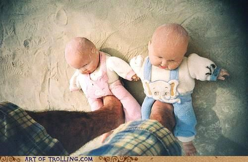 Babies,baby,creepy,IRL,slippers