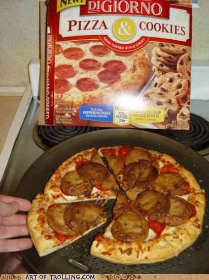 combined,cookies,gross,IRL,pizza