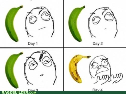 banana,green,gross,Rage Comics,wtf,yellow