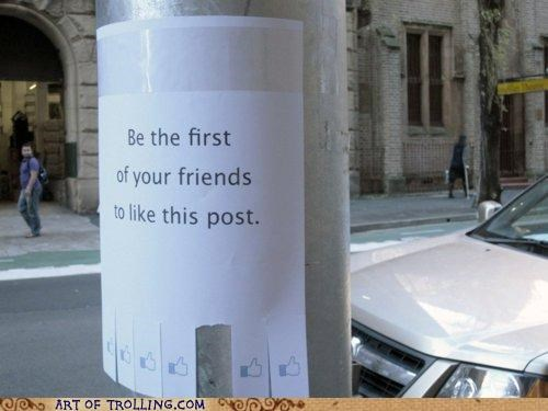 facebook IRL like post - 5054407168