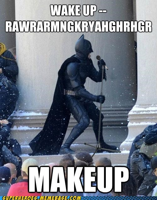 batman Dark Knight Rises singing Super-Lols wtf - 5054412288