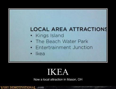 attraction hilarious ikea mason ohio