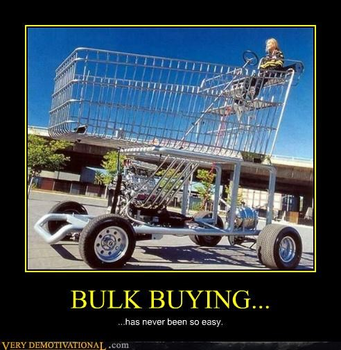 bulk buying shopping cart car hilarious - 5054564096
