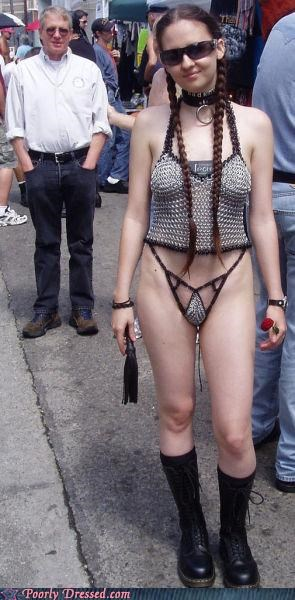 bikini chainmail Hall of Fame parenting - 5054798592