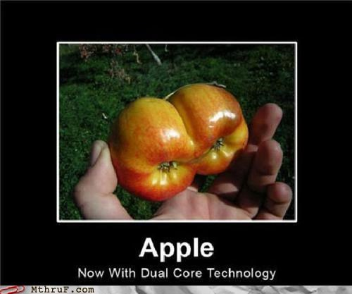 apple,dual core,pun