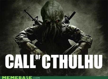 call of duty cthulhu Memes monster video games - 5054966784