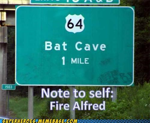alfred bat cave batman practical joke Super-Lols - 5055155200