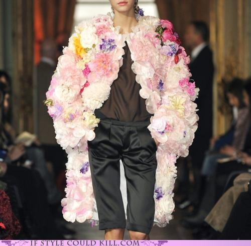 alexis mabille cool accessories flowers jacket - 5055214336