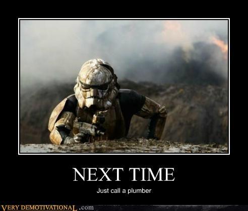 hilarious next time plumber stormtrooper - 5055303168
