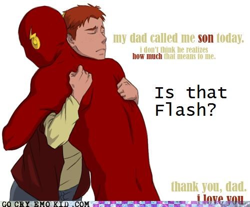 art dad flash son Super-Lols wtf - 5055325440