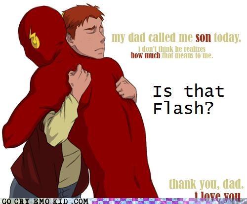 art dad flash son Super-Lols wtf - 5055325440