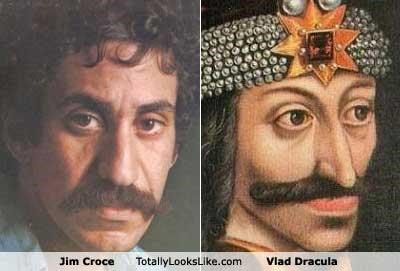 classics,dracula,folk,Jim Croce,musicians,mustache,mustaches,singer songwriters,Vlad Dracula,warlord