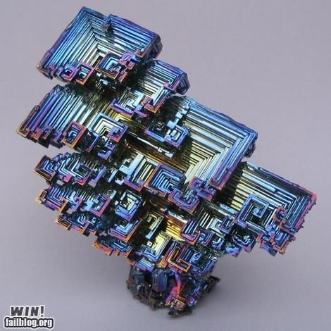 bismuth crystal elements f yeah patterns science