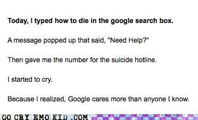 cares emolulz google hotline Sad suicide - 5056711168