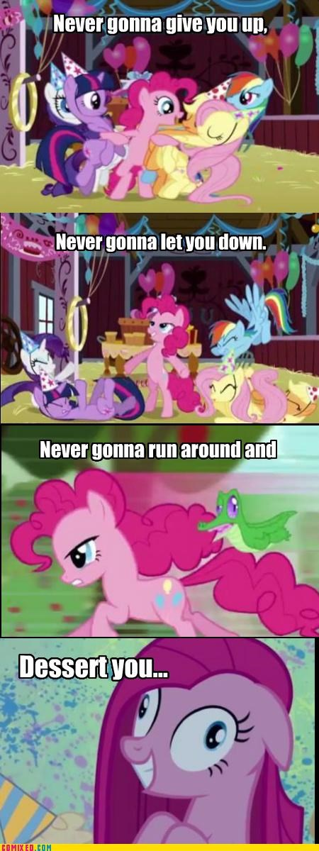 comics,lyrics,rarity,rick astley,rick roll