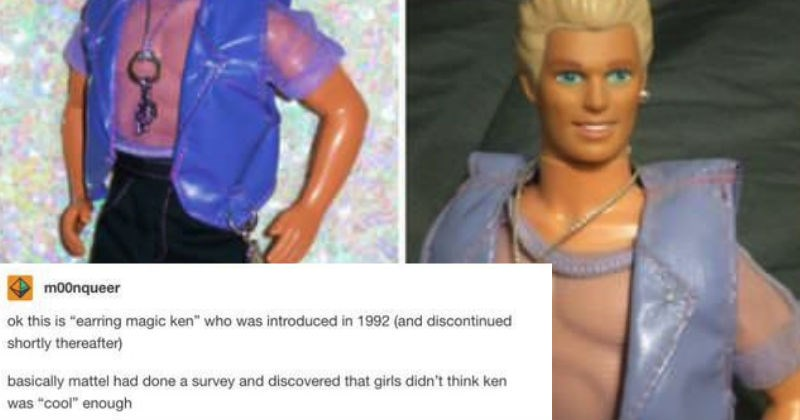 hilarious tumblr Barbie Ken Doll ridiculous funny - 5058309