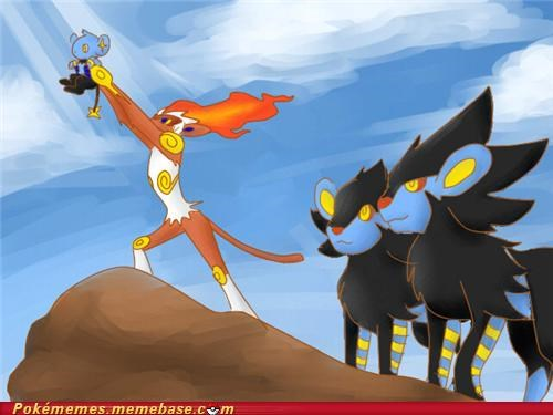 disney infernape lion king luxray Pokémans shinx - 5058740736