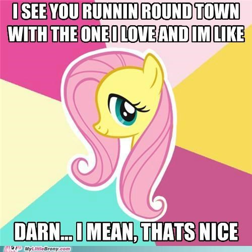 cee-lo green fluttershy forget you meme polite - 5059390208