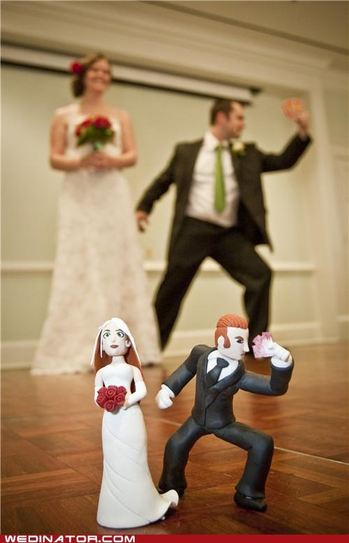 cake toppers comics funny wedding photos geek x men