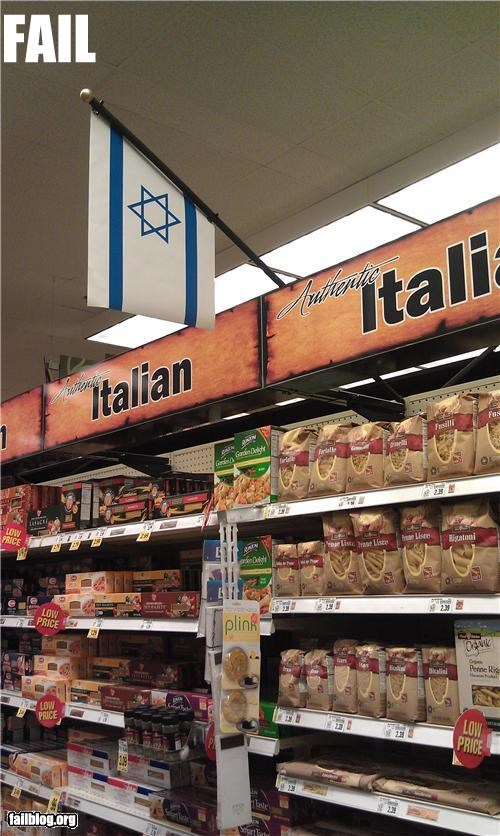 failboat,flag,geography,g rated,grocery store,italian