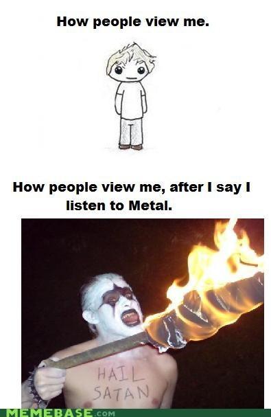 aluminum How People View Me metal Music satan steel - 5060253184